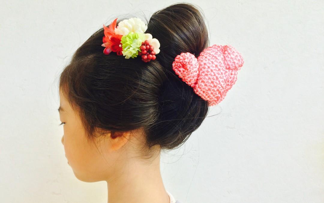 日本髪、アップスタイル